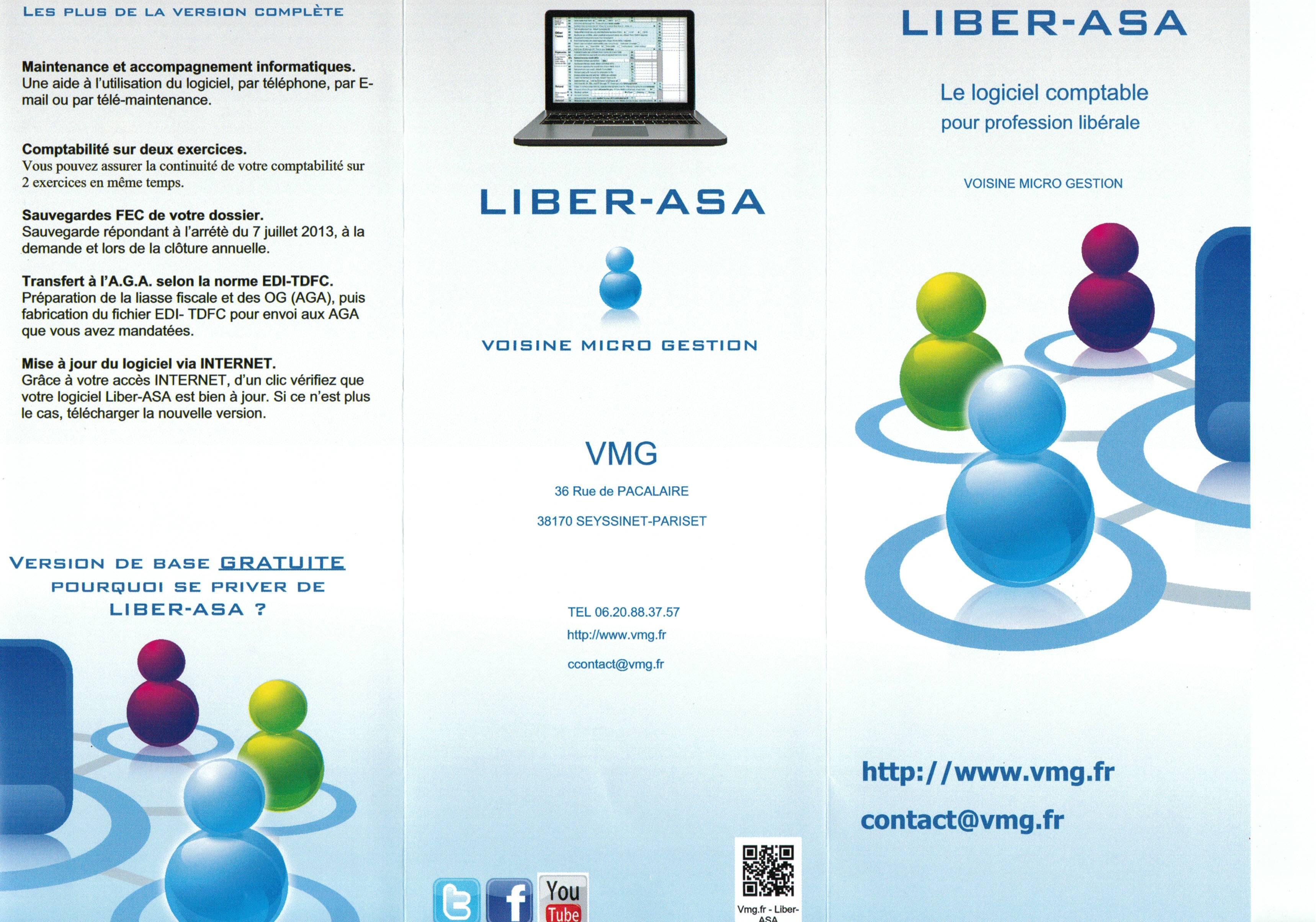 Plaquette Liber-ASA - Recto